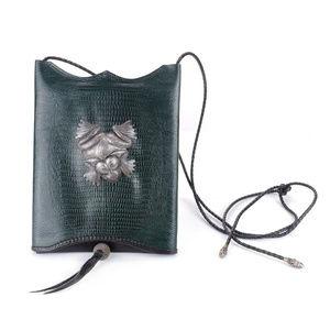 Artisan Leather Crossbody Bag